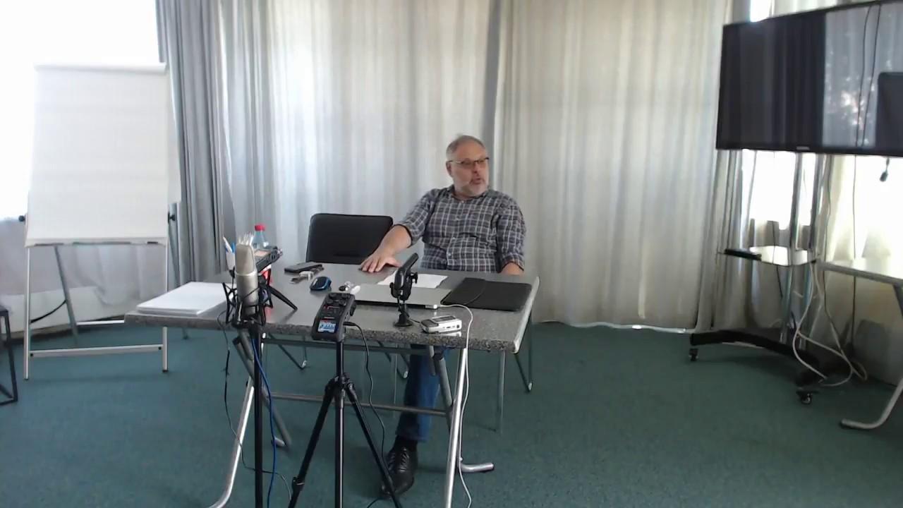 Семинар Михаила Хазина в Санкт-Петербурге 17.06.2017
