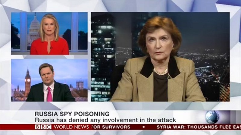 Наталия Нарочницкая: То, что я видела в Великобритании, напомнило мне о советских судебных процессах